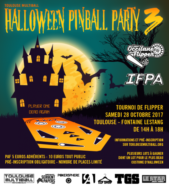 Tournoi Halloween Pinball Party 3