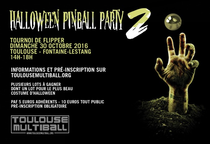 Tournoi Halloween Pinball Party 2